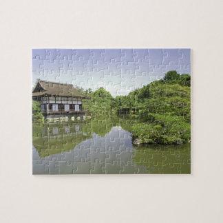 Japan, Kyoto, Japanese Garden of Heian Shrine 2 Jigsaw Puzzle