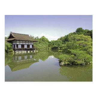 Japan, Kyoto, Japanese Garden of Heian Shrine 2 Postcard