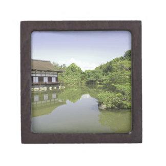 Japan Kyoto Japanese Garden of Heian Shrine 2 Premium Keepsake Boxes