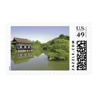 Japan, Kyoto, Japanese Garden of Heian Shrine 2 Stamp