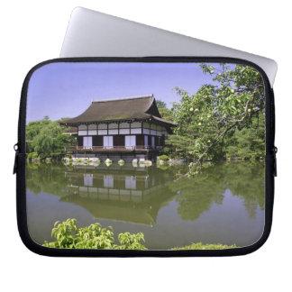 Japan, Kyoto, Japanese Garden of Heian Shrine Computer Sleeve