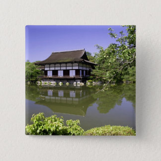 Japan, Kyoto, Japanese Garden of Heian Shrine Pinback Button