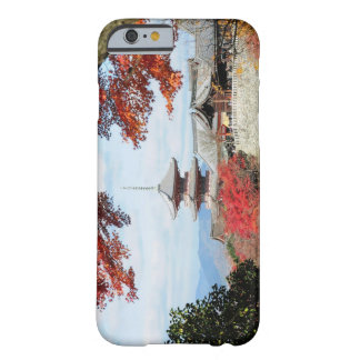 Japan, Kyoto. Kiyomizu temple in Autumn color Barely There iPhone 6 Case
