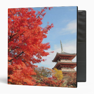 Japan, Kyoto. Kiyomizu temple in Autumn color Binder