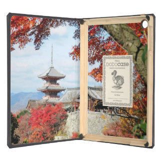 Japan, Kyoto. Kiyomizu temple in Autumn color iPad Air Cases