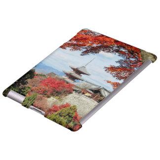 Japan, Kyoto. Kiyomizu temple in Autumn color Apple Ipad234 Case
