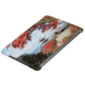 Japan, Kyoto. Kiyomizu temple in Autumn color iPad Air Cases