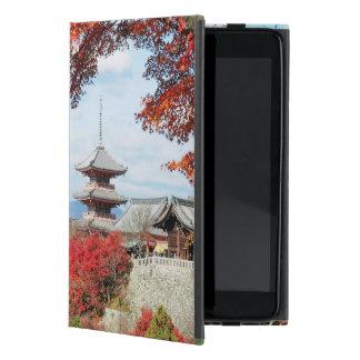 Japan, Kyoto. Kiyomizu temple in Autumn color Cases For iPad Mini
