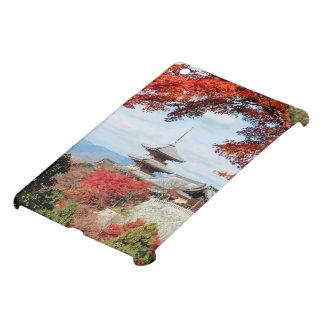 Japan, Kyoto. Kiyomizu temple in Autumn color iPad Mini Cases