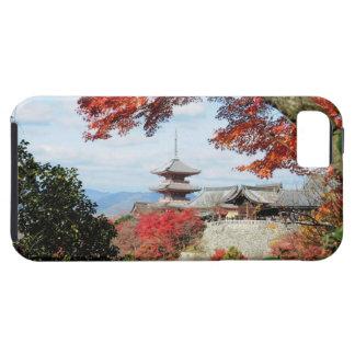 Japan, Kyoto. Kiyomizu temple in Autumn color iPhone SE/5/5s Case