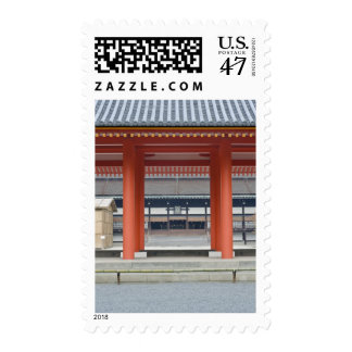 Japan, Kyoto, Kyoto Imperial Palace Courtyard Postage