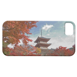 Japan, Kyoto, Pagoda in Autumn colour iPhone SE/5/5s Case