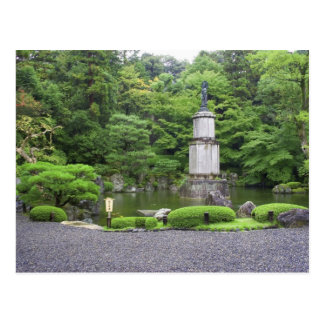 Japan, Kyoto, Scilent Stone Garden Postcard