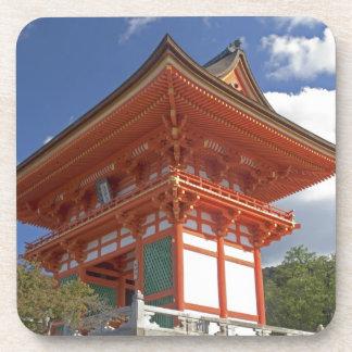 Japan, Kyoto, Soaring Gate of Temple Beverage Coaster