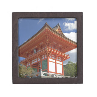 Japan, Kyoto, Soaring Gate of Temple Gift Box