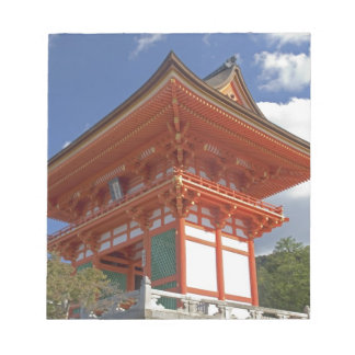 Japan, Kyoto, Soaring Gate of Temple Note Pad