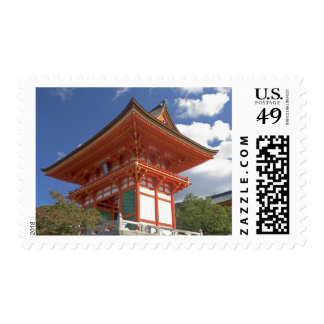Japan, Kyoto, Soaring Gate of Temple Postage