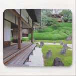 Japan, Kyoto. Stone garden in silence Mouse Pad