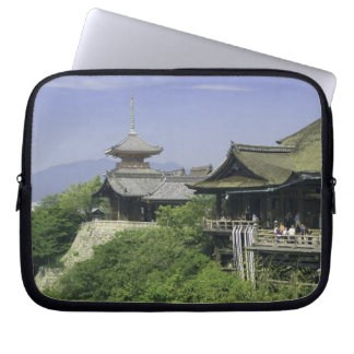 Japan, Kyoto, The View from Kiyomizu Temple Computer Sleeves