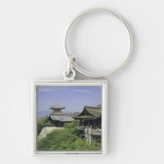 Japan, Kyoto, The View from Kiyomizu Temple Keychain