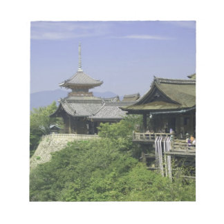 Japan, Kyoto, The View from Kiyomizu Temple Notepad