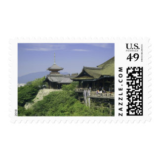 Japan, Kyoto, The View from Kiyomizu Temple Postage