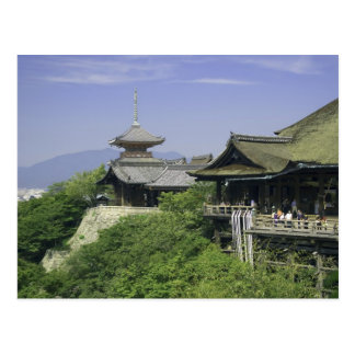 Japan, Kyoto, The View from Kiyomizu Temple Postcard