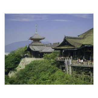 Japan, Kyoto, The View from Kiyomizu Temple Poster