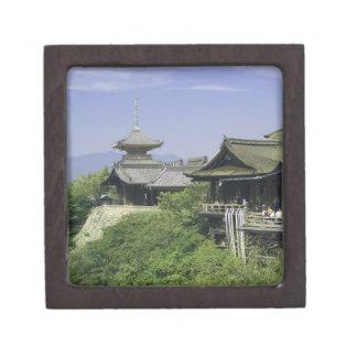 Japan, Kyoto, The View from Kiyomizu Temple Premium Keepsake Boxes