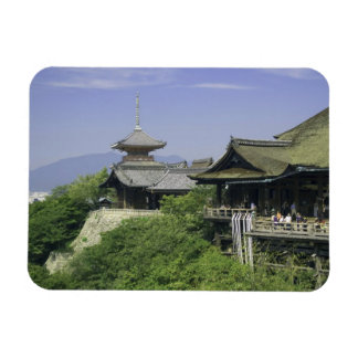 Japan, Kyoto, The View from Kiyomizu Temple Rectangular Photo Magnet