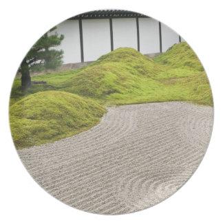 Japan, Kyoto, Tofukuji Temple, Landscape Garden Plates