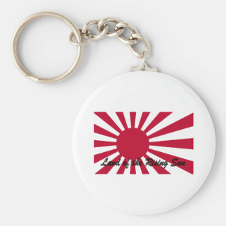 Japan - Land of the Rising sun Basic Round Button Keychain