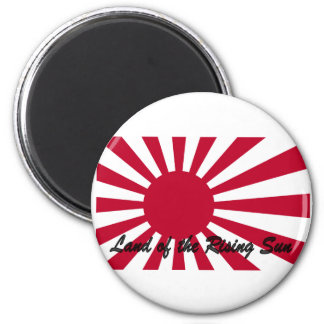 Japan - Land of the Rising sun 2 Inch Round Magnet