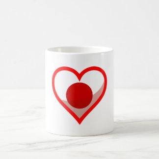 Japan love coffee mug