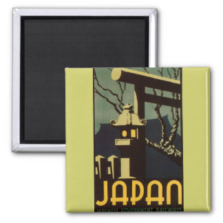 Japan 2 Inch Square Magnet