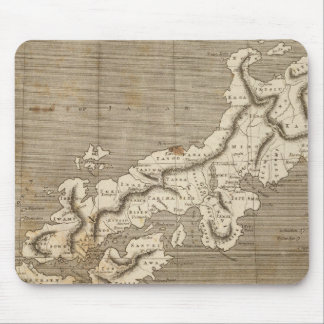 Japan Map by Arrowsmith Mouse Pads