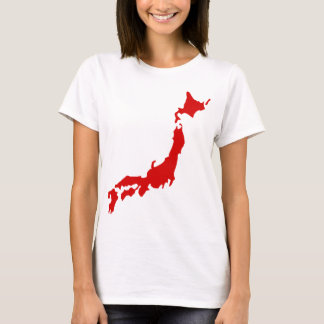 Japan Map T-Shirt