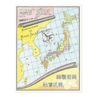 Vintage Japan Map Postcards Zazzle - Japan map 1920