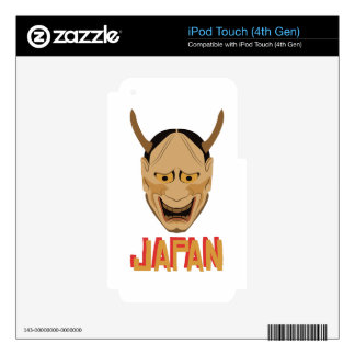 Japan Mask Decal For iPod Touch 4G