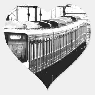 japan modern art design tokyo heart sticker