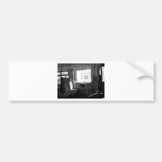 """Japan modern art original design komatsu teru "" Bumper Sticker"