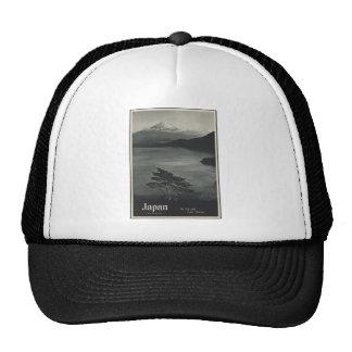 Japan Mount Fuji and Lake Motosu Hats
