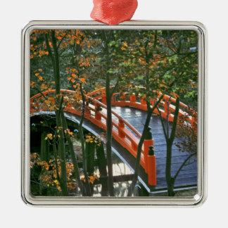 Japan, Nara Pref., Nara. The Royal Bridge glows Ornament