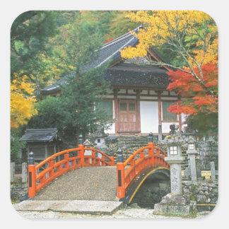 Japan, Nara, Ryuzenji Temple Square Sticker