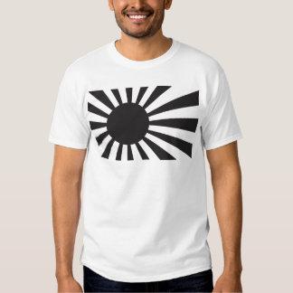 Japan Navy Flag - Black Shirt