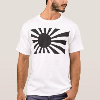 Japan Navy Flag - Black T-Shirt