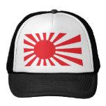 Japan Navy Flag - Red Trucker Hat