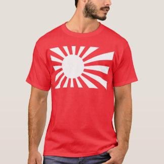 Japan Navy Flag - White T-Shirt
