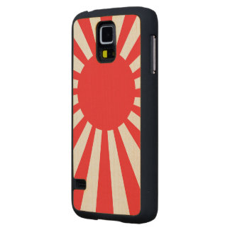 Japan Navy Flag Carved® Maple Galaxy S5 Case