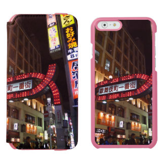 Japan Neon Signs iPhone 6/6s Wallet Case